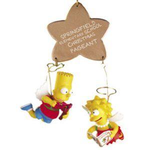 The Simpsons Christmas Tree Ornament set 2002